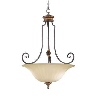 Quorum International 8101-4 Capella 4 Light Bowl Shaped Pendant