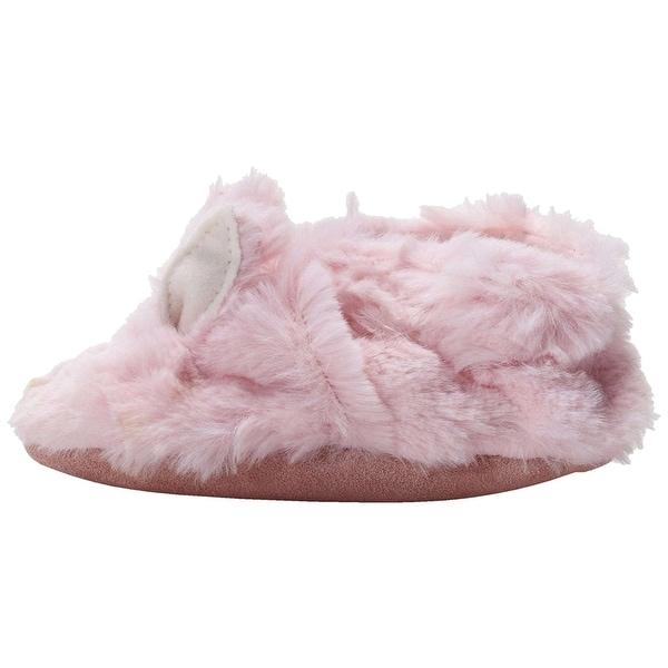 Robeez Baby Fuzzy Bunny Slip On Slippers