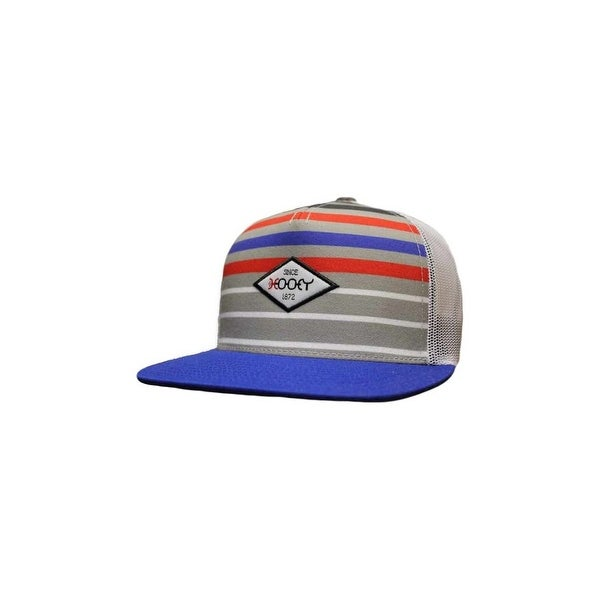 42e33c24 Shop HOOey Hat Mens Method Mesh Back Snapback O/S Gray Blue - Free Shipping  On Orders Over $45 - Overstock - 15835358