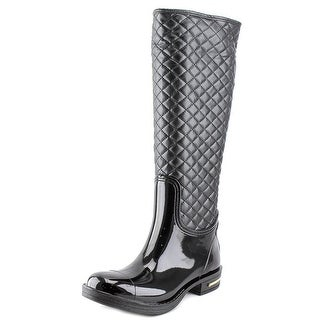Nomad Axel Women Round Toe Synthetic Black Rain Boot