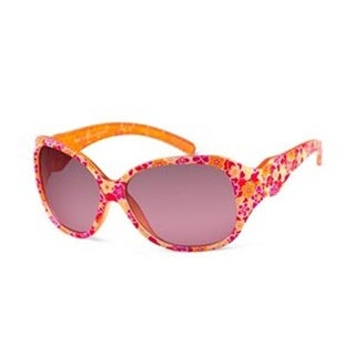 Sunbelt USA Amanda Lens Sunglasses - Orange, Flowers with Rose