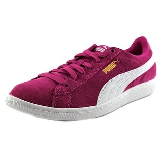 Puma Vikky Round Toe Suede Sneakers