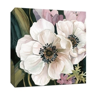 "PTM Images 9-147379  PTM Canvas Collection 12"" x 12"" - ""Anemone Study I"" Giclee Flowers Art Print on Canvas"