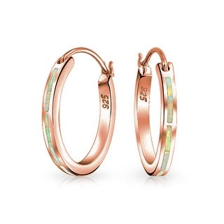 Bling Jewelry Rose Gold Plated .925 Silver Synthetic White Opal Hoop Earrings - Pink|https://ak1.ostkcdn.com/images/products/is/images/direct/e28afb4ea8d5f68d4eeda6b72f63f10038df591d/Bling-Jewelry-Rose-Gold-Plated-.925-Silver-Synthetic-White-Opal-Hoop-Earrings.jpg?_ostk_perf_=percv&impolicy=medium