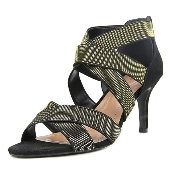 Style & Co. Womens Seleste Open Toe Ankle Strap Classic Pumps