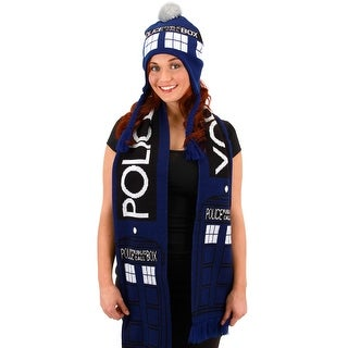 Elope Doctor Who TARDIS Scarf - Blue