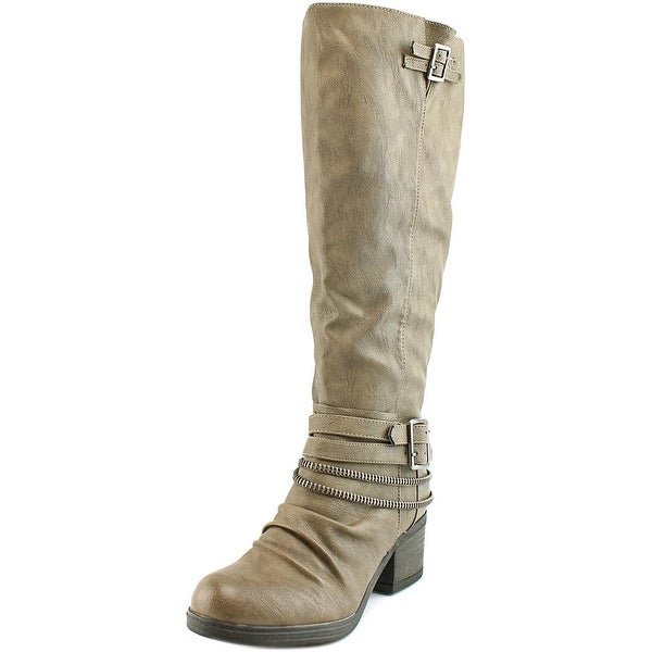 Carlos by Carlos Santana Candace Wide Calf Women Grey Boots