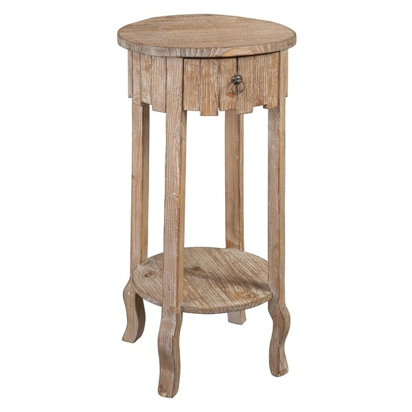 Hekman 27700 14 Inch Wide Wood End Table With Lower Shelf Special Reserve Free Shipping Today 21165856
