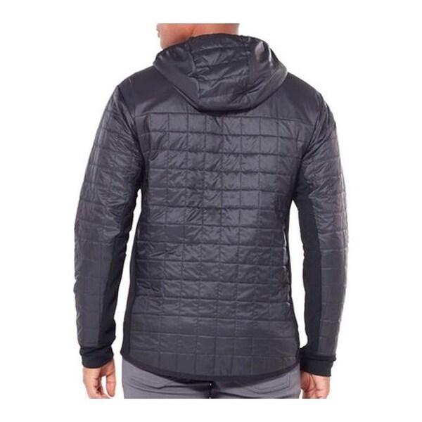 Icebreaker Helix LS Zip Jacket Herren blackjet heather