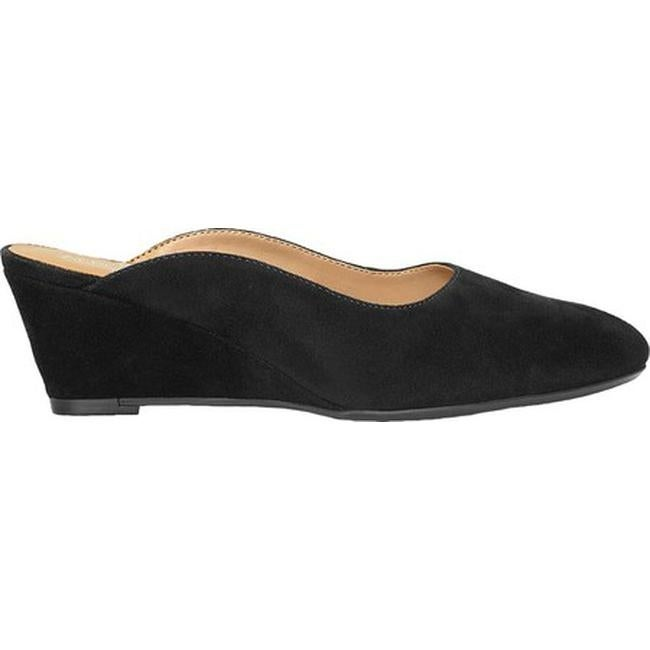 2aeee99f3b2e Shop Aerosoles Women s Encircle Mule Black Suede - On Sale - Free Shipping  Today - Overstock - 26270550