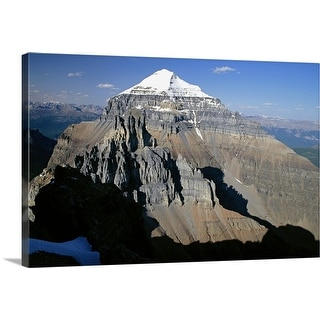 """Mount Temple Banff National Park Alberta, Canada"" Canvas Wall Art"
