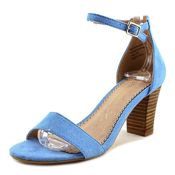 Restricted All Over You Women Open Toe Synthetic Blue Sandals