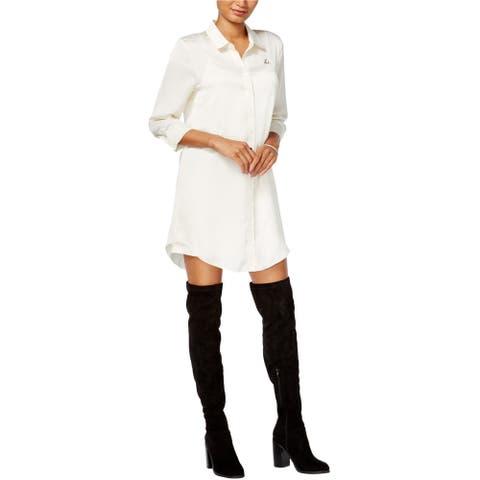 Kensie Womens Tusk Shift Tunic Dress