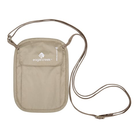 Eagle Creek RFID Blocker Neck Wallet Tan