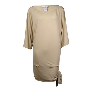 MICHAEL Michael Kors Women's Side-Tie Tunic Swim Cover
