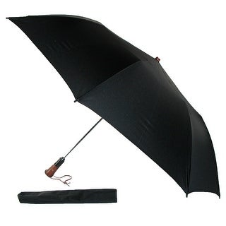 Leighton Magnum Auto Open and Close Umbrella - Black - One size