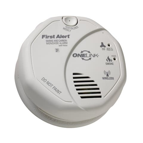 First Alert SCO501CN-3ST Smoke and Carbon Monoxide Alarm with Voice Location