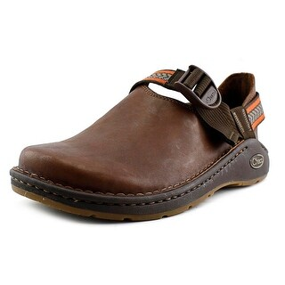 Chaco Pedshed Youth Round Toe Leather Clogs