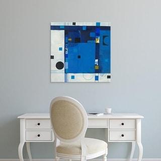 Easy Art Prints Deborah T. Colter's 'Blueberry Hill II' Premium Canvas Art