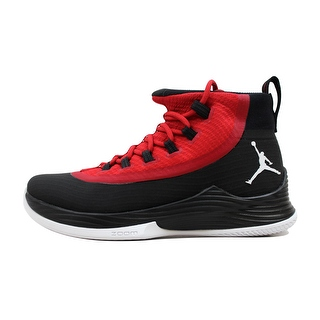 Nike Men's Air Jordan Ultra Fly 2 Black/White-Gym Red 897998-001