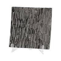 """Cyan Design Small Cobblestone Tray Cobblestone 11.25"""" Wide Aluminum Tray Made in India - N/A"""