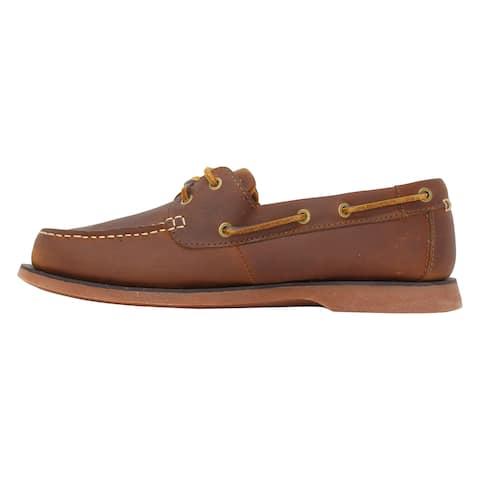 Clarks Port View Mahogany Leather 26108694 Men's