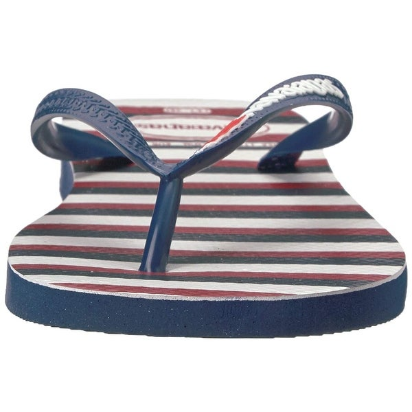 3bec13554314 Shop Havaianas Women s Top USA Stripe Navy Blue Flip Flop - 11 - Free  Shipping On Orders Over  45 - Overstock - 27100230
