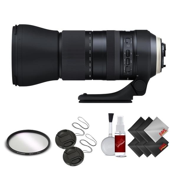 Tamron SP 150-600mm f/5-6.3 Di VC USD G2 for NIKON International Version (No Warranty) Base Kit - Black
