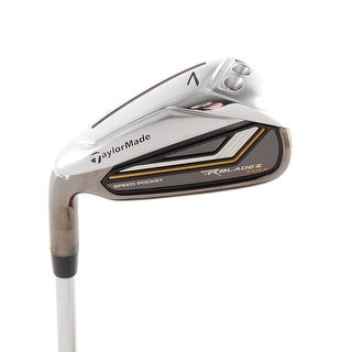 New TaylorMade RocketBladez Max 7-Iron FST Uniflex Steel LEFT HANDED
