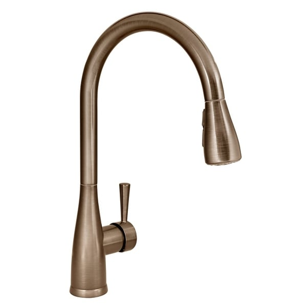 Shop Mirabelle Mirxcca100 Calverton Pullout Spray Kitchen Faucet