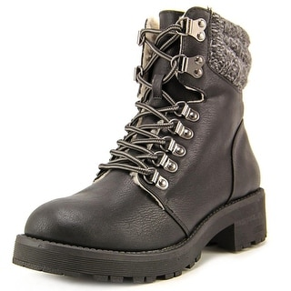 Mia Maylynn Women Round Toe Synthetic Ankle Boot