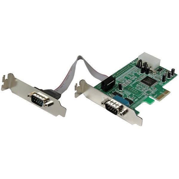 Startech - Pex2s553lp 2Port Low Profile Pcie Serialncard Serial Rs232 Card
