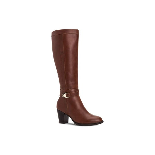 Giani Bernini Womens Rozario Leather Almond Toe Knee High Fashion Boots. Opens flyout.