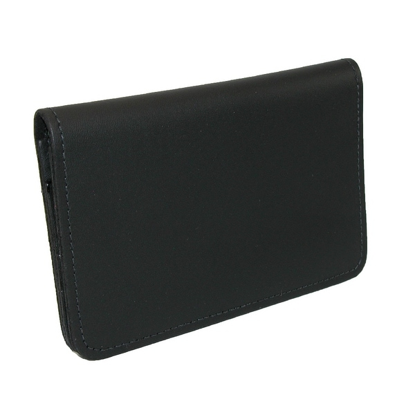 CTM® Leather Top Stub Checkbook Cover - One size