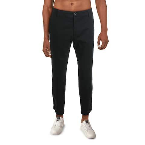 Dockers Mens Dress Pants Khaki Comfort Fit - Black