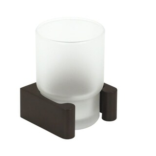 Alno A6875 Wall Mounted Tumbler Holder from the Luna Collection
