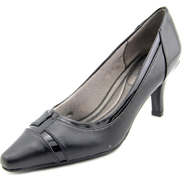 Life Stride Karlyle Women Pointed Toe Synthetic Black Heels