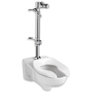 "American Standard 6047.800 1.6 Exposed Toilet Flush Valve for 1-1/2"" Top Spud In"