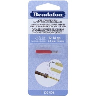 Battery Operated Bead Reamer Wire Rounder Tip 12-14 Gauge-