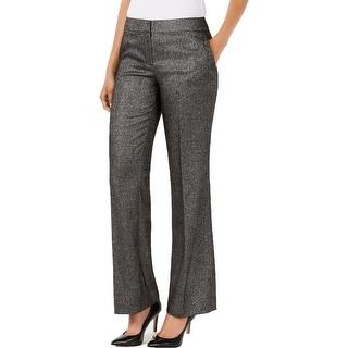 Nine West Womens Trouser Pants Straight Leg Office