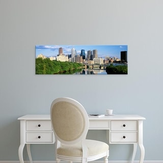 Easy Art Prints Panoramic Images's 'Philadelphia, Pennsylvania, USA' Premium Canvas Art