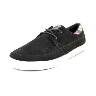 Fallen Roach Men Round Toe Suede Black Skate Shoe
