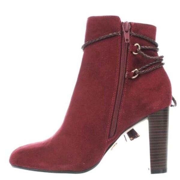 Thalia Sodi Womens Palomaaf Almond Toe Mid-Calf Fashion Boots - 8.5
