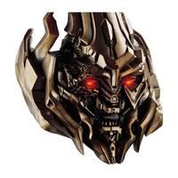 Carlton Cards Heirloom Transformers Megatron Lighted Christmas Ornament w/Sound