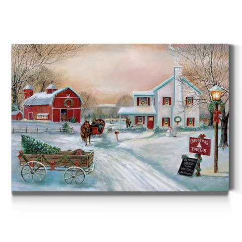 Christmas Tree Farm-Premium Gallery Wrapped Canvas - Ready to Hang