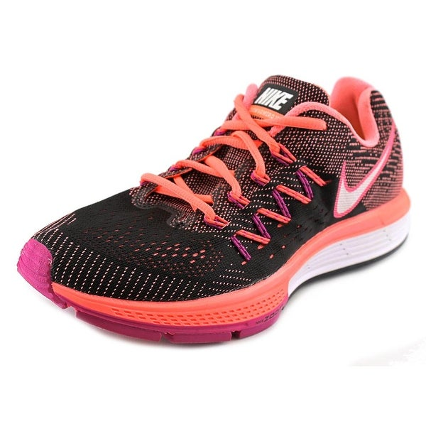 Nike Air Zoom Vomero 10 Women Round Toe Synthetic Black Running Shoe