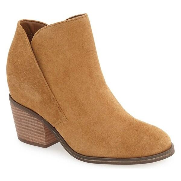 Jessica Simpson Womens Tandra Leather Closed Toe Ankle Fashion Boots
