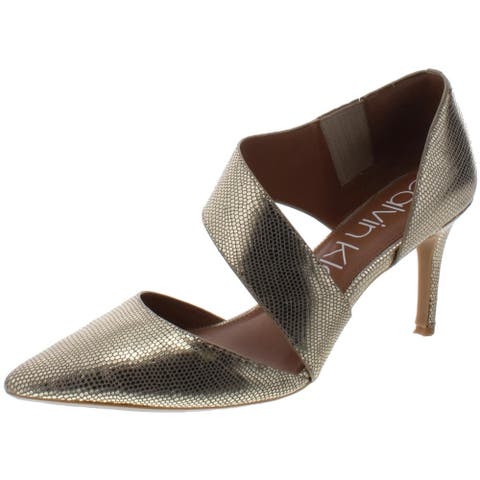 Calvin Klein Womens Gella Dress Heels Pointed Toe