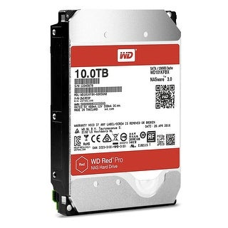 "Western Digital Hdd Wd101kfbx 3.5"" 10Tb Sata 6Gb/S 7200Rpm 256Mb Cache Red Bare"