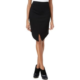 Kensie Womens Pencil Skirt Ponte Envelope Hem - L